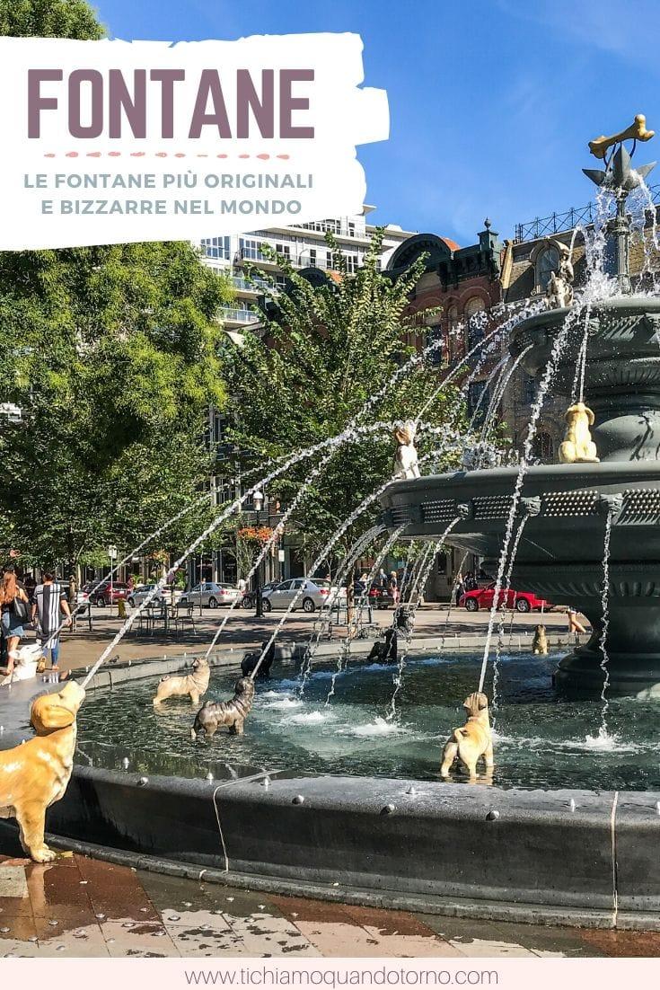 fontane bizzarre nel mondo