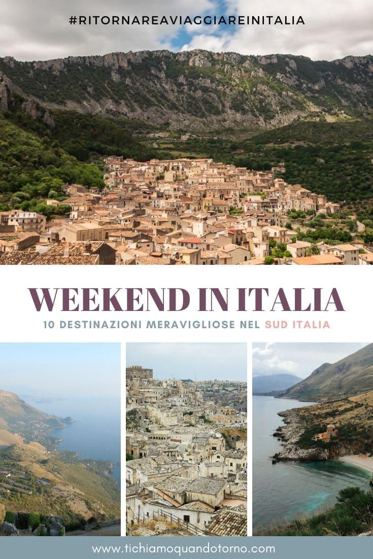 weekend sud italia