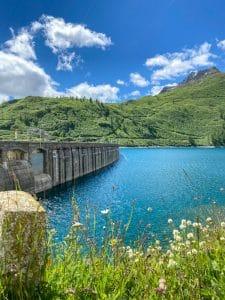 Le acque cristalline del lago di Morasco