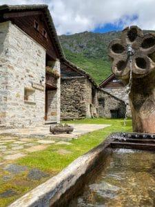 Fontana a Riale, in Val Formazza