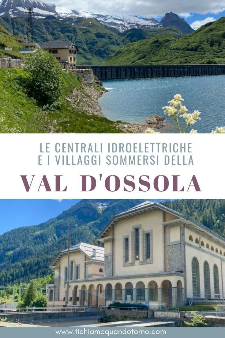 centrali idroelettriche in Ossola