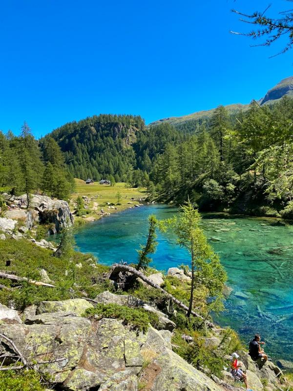 Il lago delle streghe all'Alpe Devero