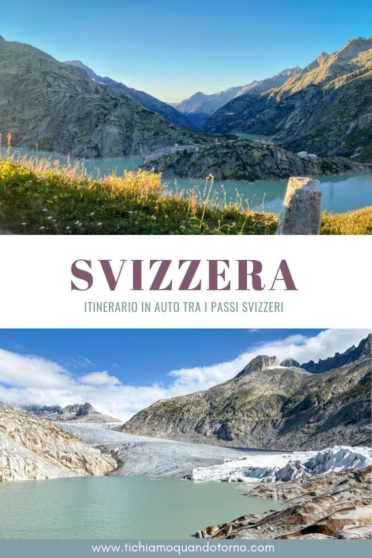 Itinerario passi svizzeri