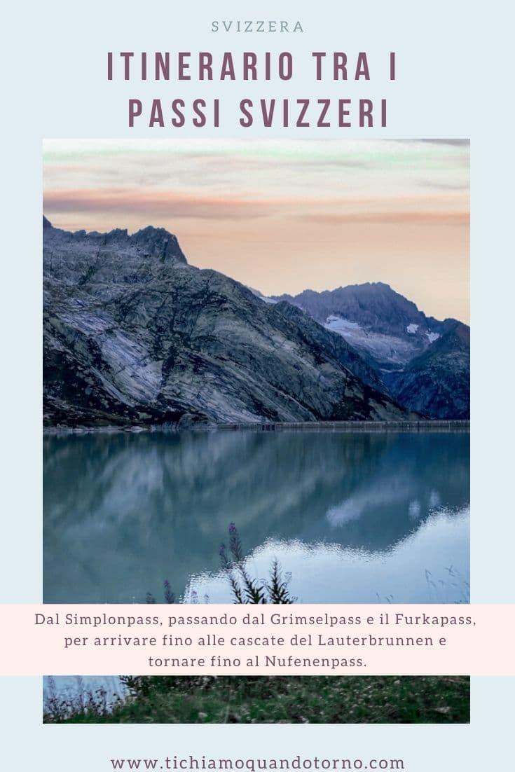 Passi svizzeri itinerario