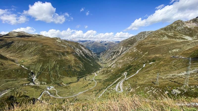 Itinerario passi Svizzeri - Nufenenpass