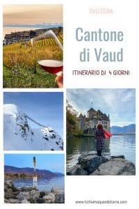 CANTONE DI VAUD itinerario