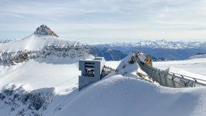 La stazione sciistica di Glacier 3000