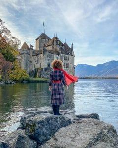 Contone di Vaud: castello di Chillon