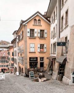 Losanna: centro storico