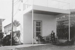 I genitori di le Corbusier a Villa Le Lac