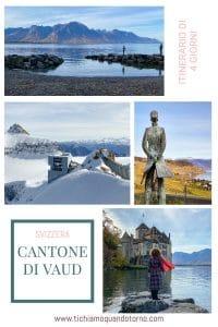 Itinerario Cantone di Vaud