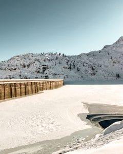 La diga di Morasco in Val Formazza