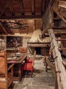 Sala da pranzo medievale Confrérie du Moyen Âge