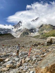 Trekking al rifugio Zamboni: la pietraia del Belvedere