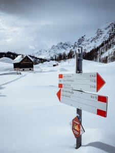 cartelli escursionistici Alpe Devero