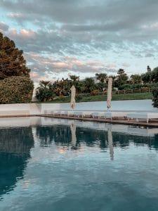 La piscina di Capofaro