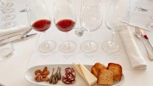 La degustazione dei vini di contrada