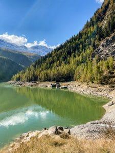 Sulla sponda del Lago di Campliccioli