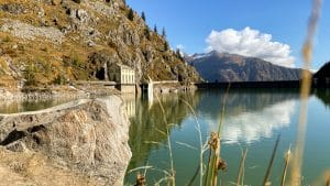 La centrale idroelettrica al Lago di Campliccioli
