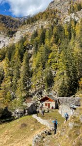 Le baite dell'Alpe Granarioli a Campliccioli