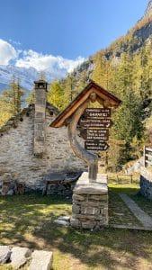 Le baite dell'Alpe Granarioli