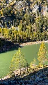 Il Lago di Campliccioli dalla sponda destra