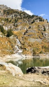 Cascata del Rio Banella a Campliccioli