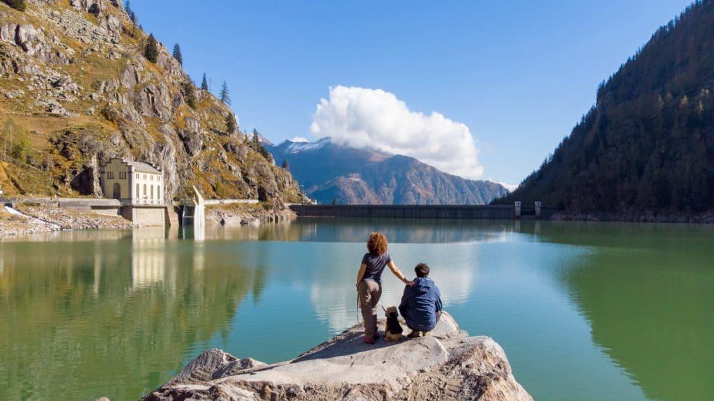 Trekking lago di Campliccioli