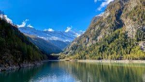 Lago di Campliccioli dalla diga