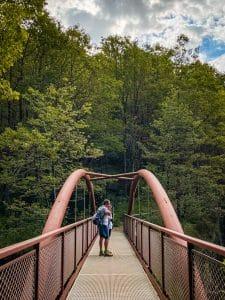 Il ponte sull'Orrido di Balmasurda
