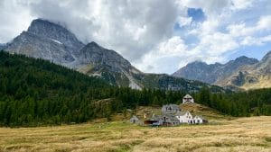 Trekking all'Alpe Veglia